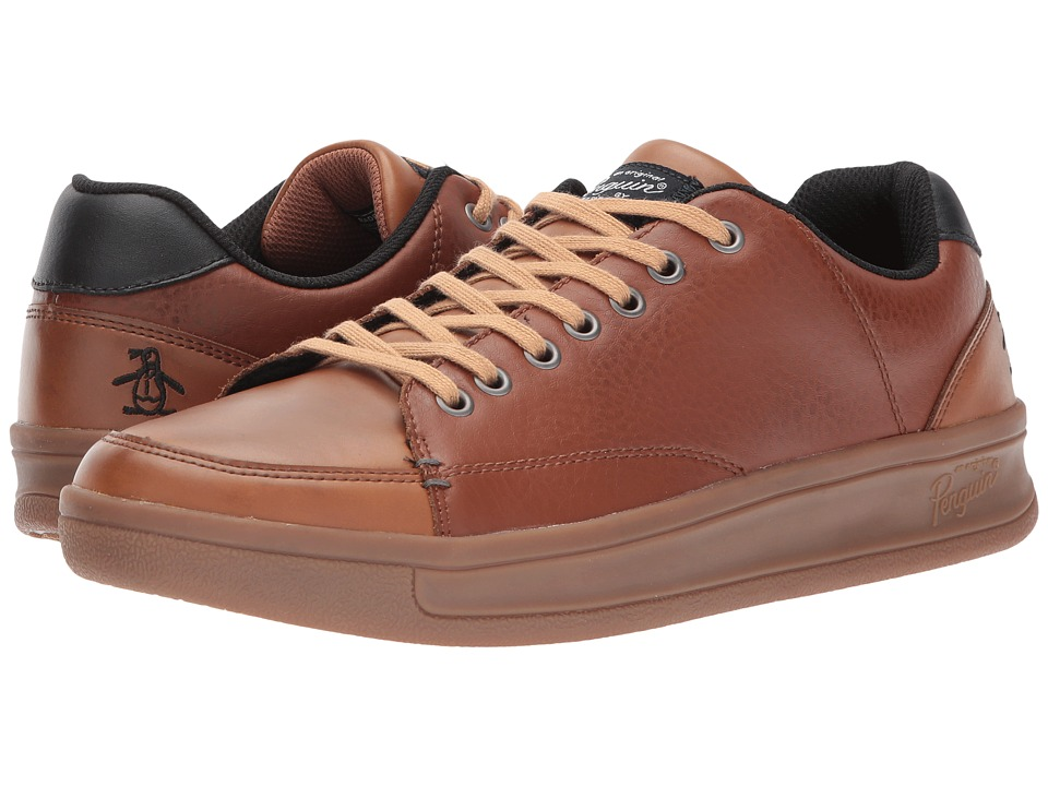 Original Penguin - Brad (Cognac Leather) Men's Lace up casual Shoes