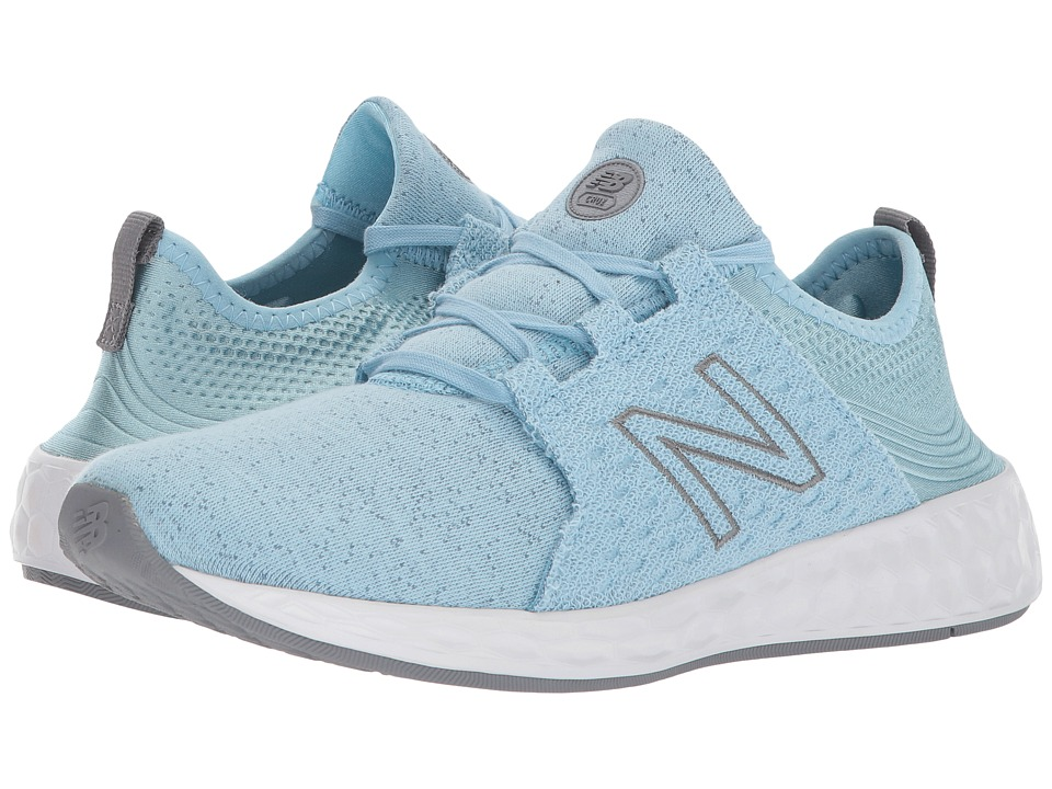 New Balance Kids KJCRZv1G (Big Kid) (Clear Sky/Gunmetal) Girls Shoes