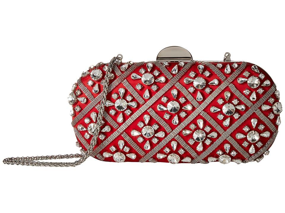 Adrianna Papell - Venus (Red/Silver) Handbags