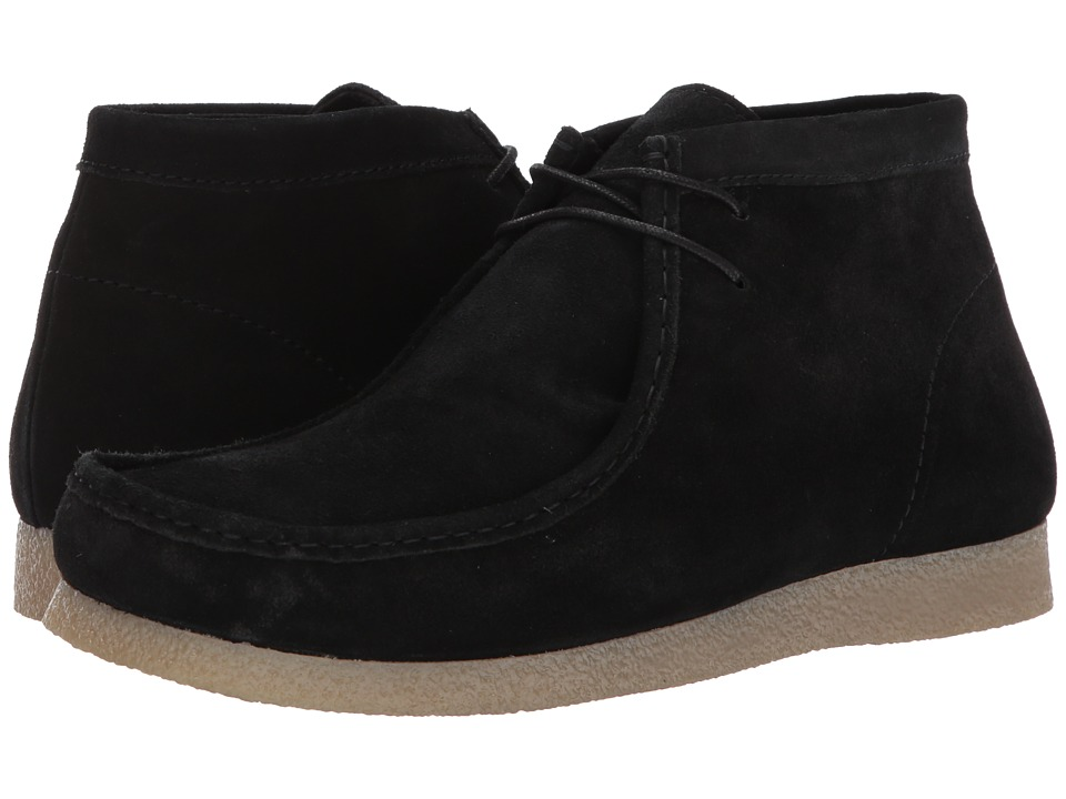 Steve Madden - Troy (Black Suede) Men's Shoes