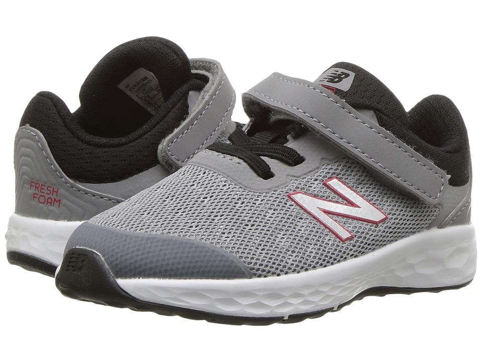 New Balance Kids KVKAYv1I (Infant/Toddler) (Steel/Black) Boys Shoes