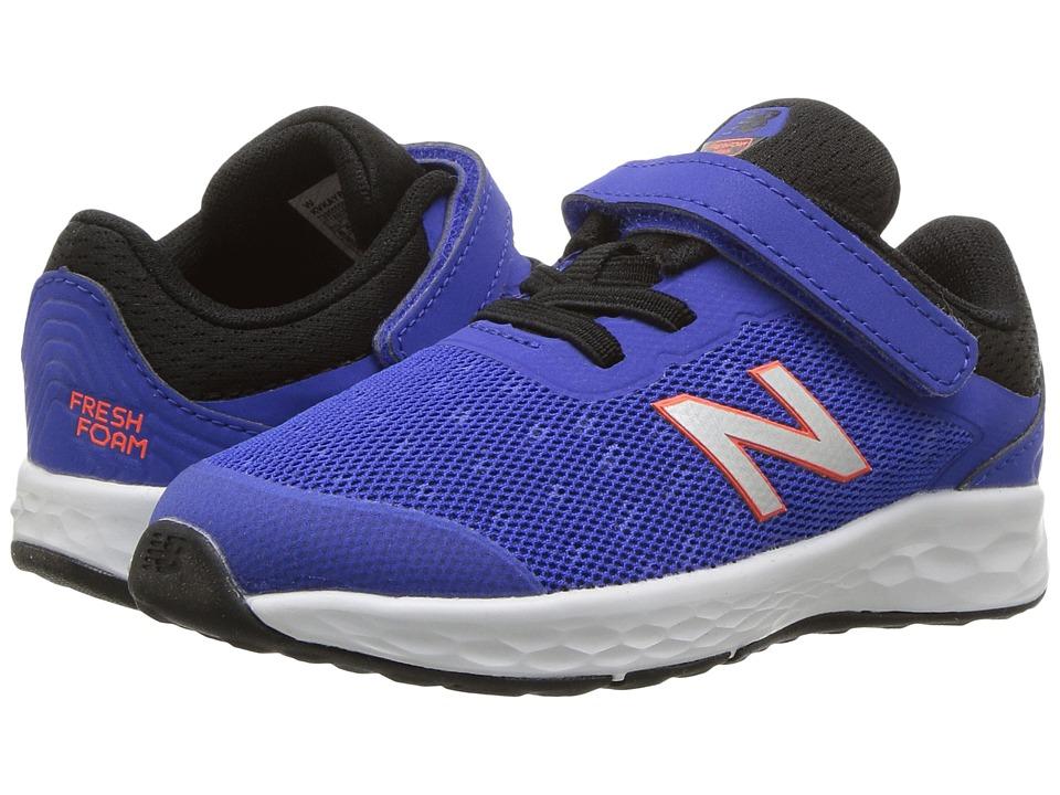 New Balance Kids KVKAYv1I (Infant/Toddler) (Pacific/Black) Boys Shoes