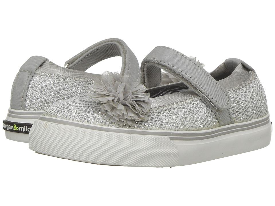 Morgan&Milo Kids Twinkle MJ II (Toddler/Little Kid) (Silver) Girls Shoes