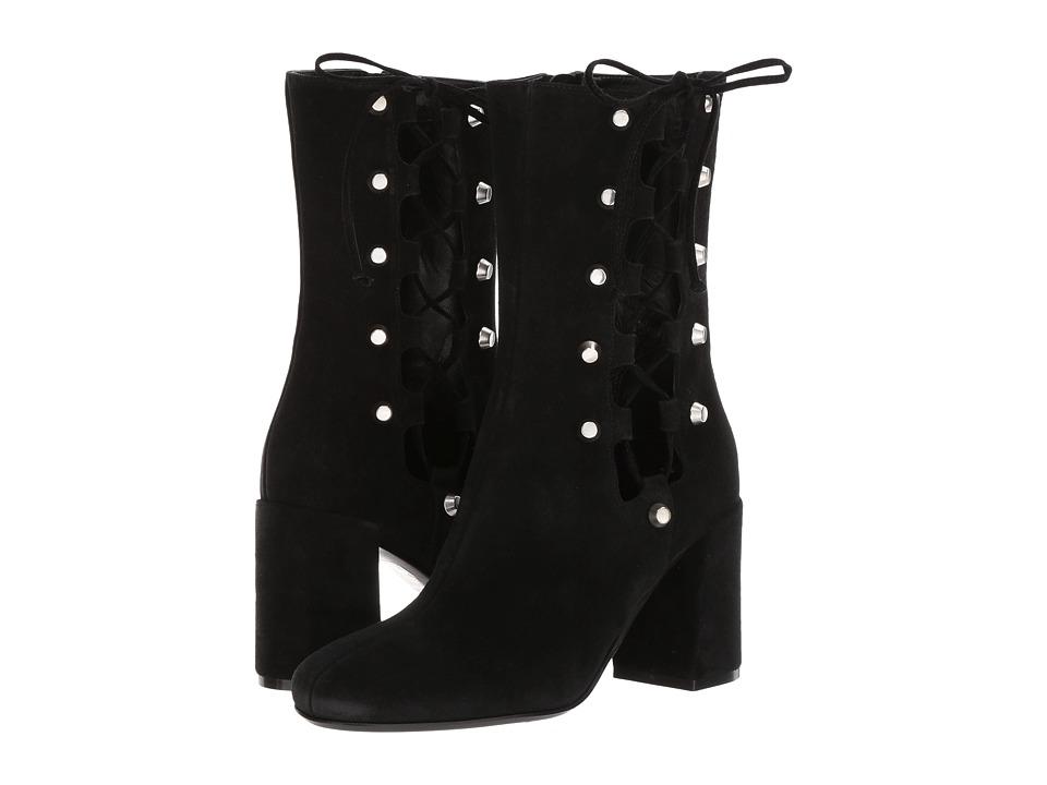 McQ Side Lace Pembury Bootie Black Boots