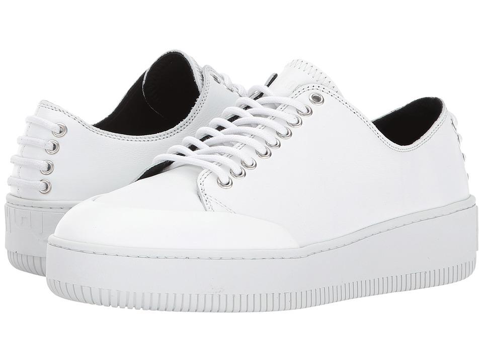 McQ - Netil Eyelet Low (Optic White) Women's Shoes