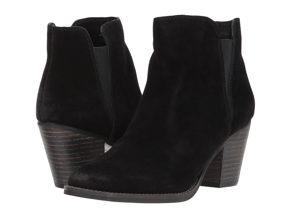 Dolce Vita - Jaine (Onyx Suede) Women's Shoes
