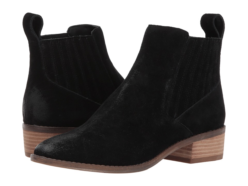 Dolce Vita - Toni (Black Suede) Women's Shoes