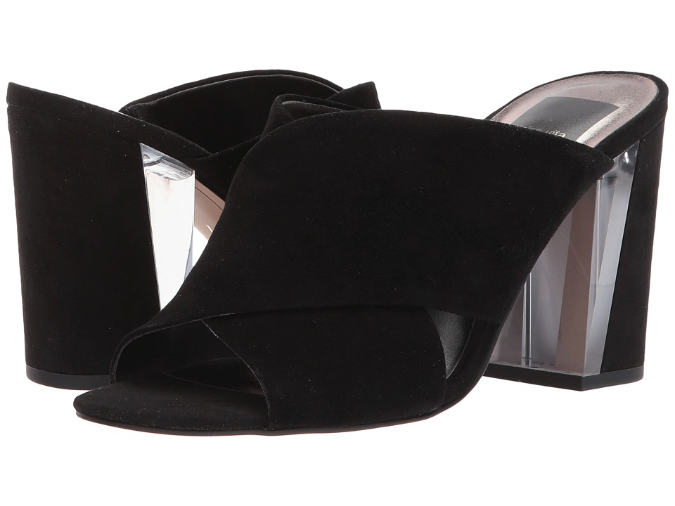 Dolce Vita - Gina (Black Suede) Women's Shoes