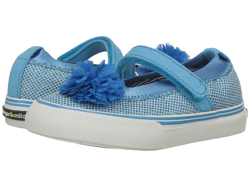Morgan&Milo Kids Twinkle MJ II (Toddler/Little Kid) (Blue) Girls Shoes