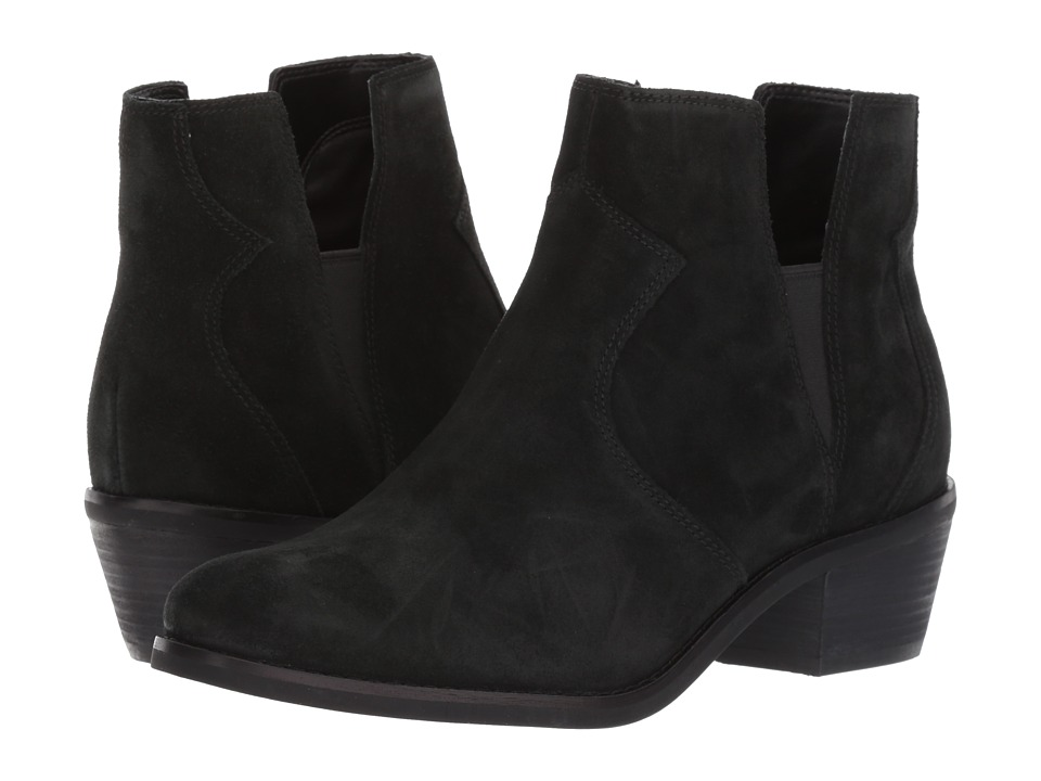 Cole Haan - Alayna Bootie II (Black Suede) Women's Shoes