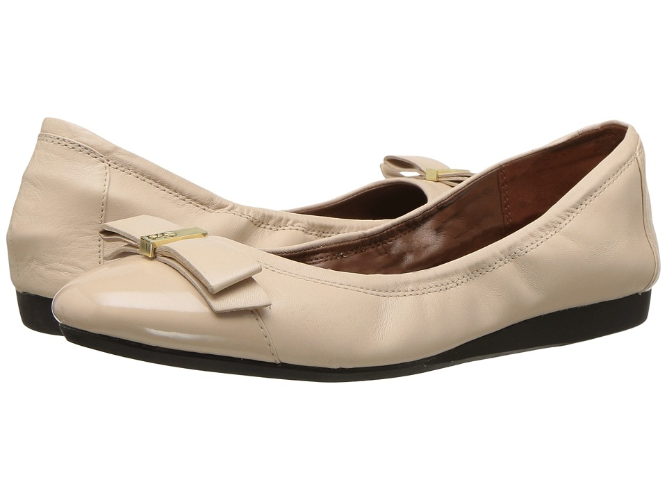 Cole Haan - Elsie Ballet II (Nude/Nude Patent) Women's Slip on Shoes