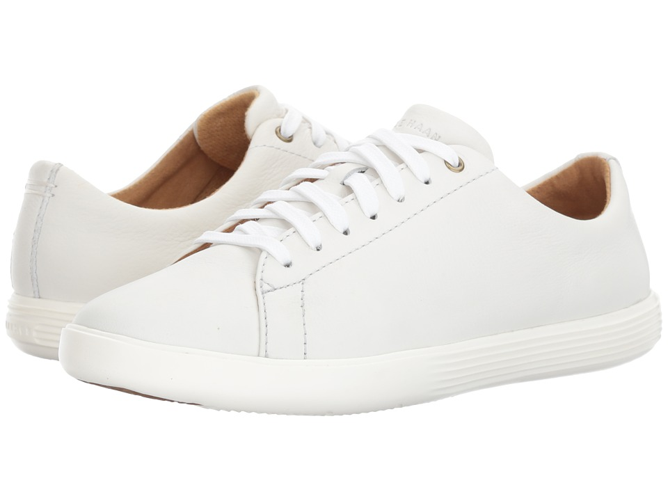 Cole Haan Grand Crosscourt II (Bright White Leather/Optic White) Women
