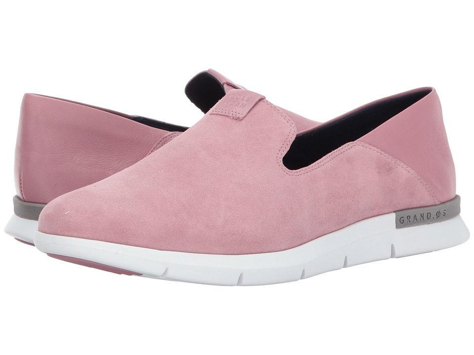Cole Haan Grand Horizon Slip-On II (Lilac Suede/Leather/Optic White) Women
