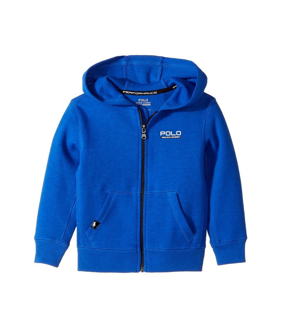 Polo Ralph Lauren Kids - Tech Fleece Full Zip Hoodie (Toddler) (Sapphire Star) Boy's Sweatshirt