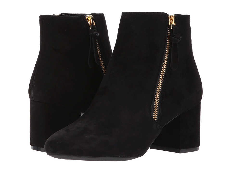 Cole Haan - Saylor Grand Bootie II (Black Suede) Women's Shoes