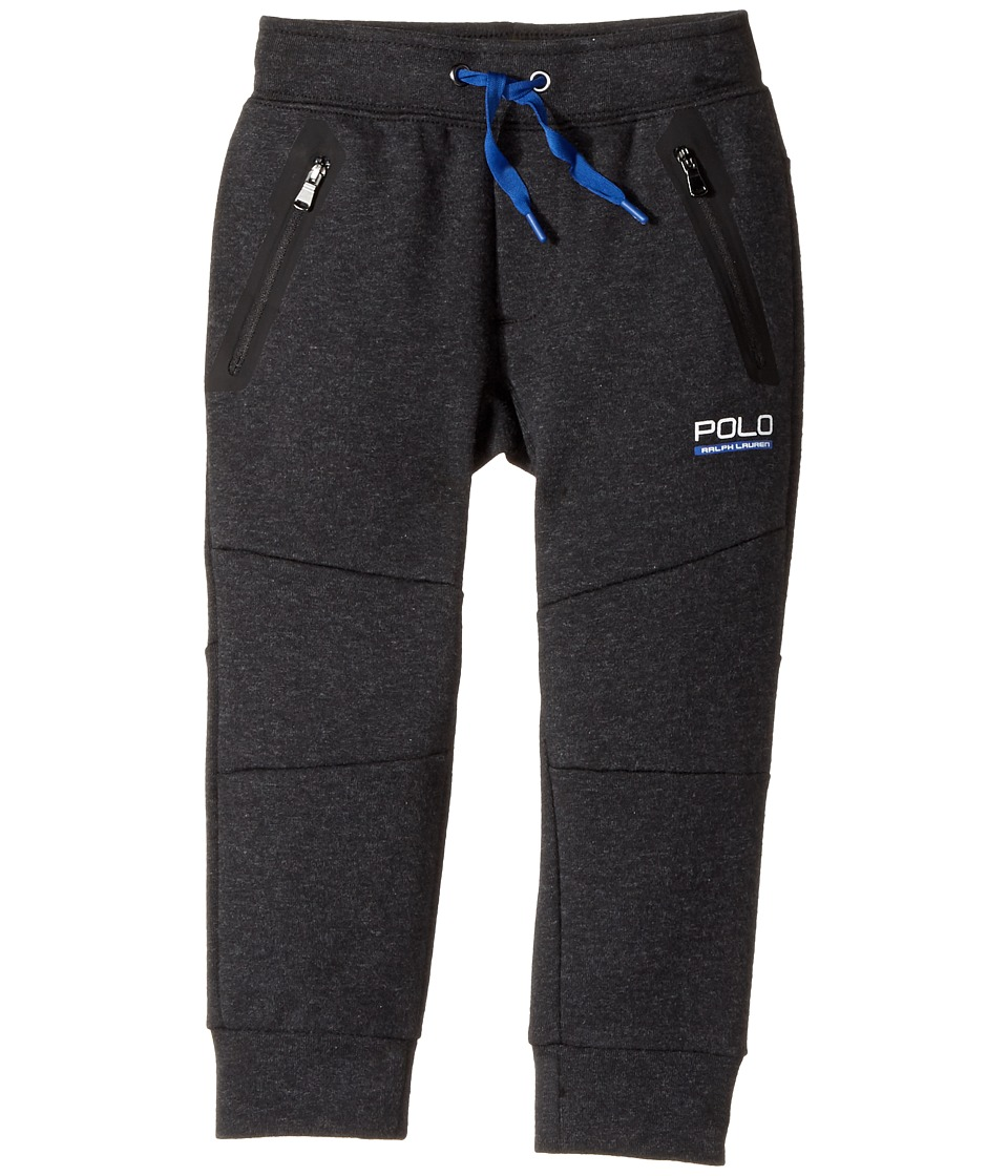 Polo Ralph Lauren Kids - Tech Fleece Pants (Toddler) (Black Marl Heather) Boy's Casual Pants
