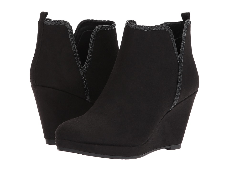 Dirty Laundry DL Volatile Wedge Bootie (Black) Women