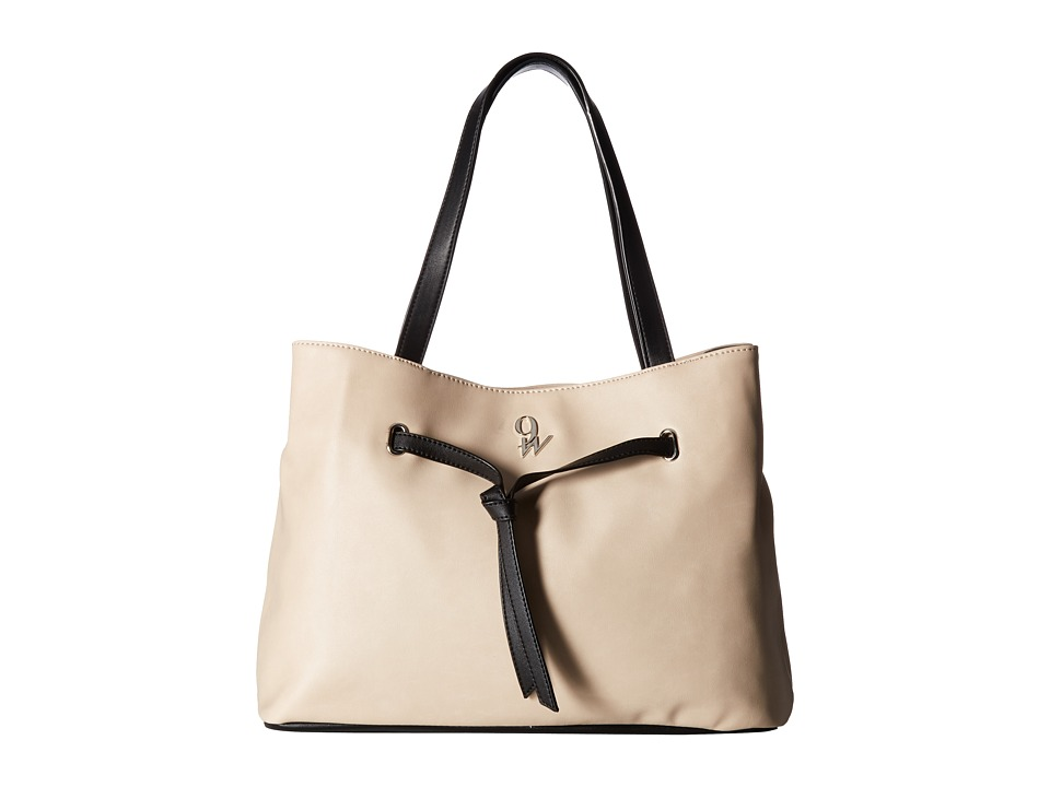 Nine West - Clean Knots (Beige/Black) Handbags