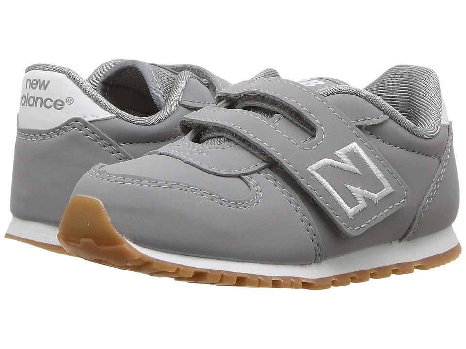 New Balance Kids KA311v1I (Infant/Toddler) (Grey/White) Boys Shoes