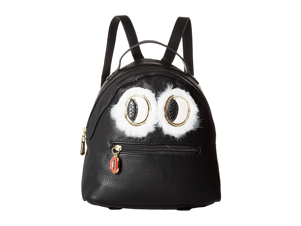Circus by Sam Edelman - Eva Mini Backpack w/ Eye Applique (Black) Backpack Bags