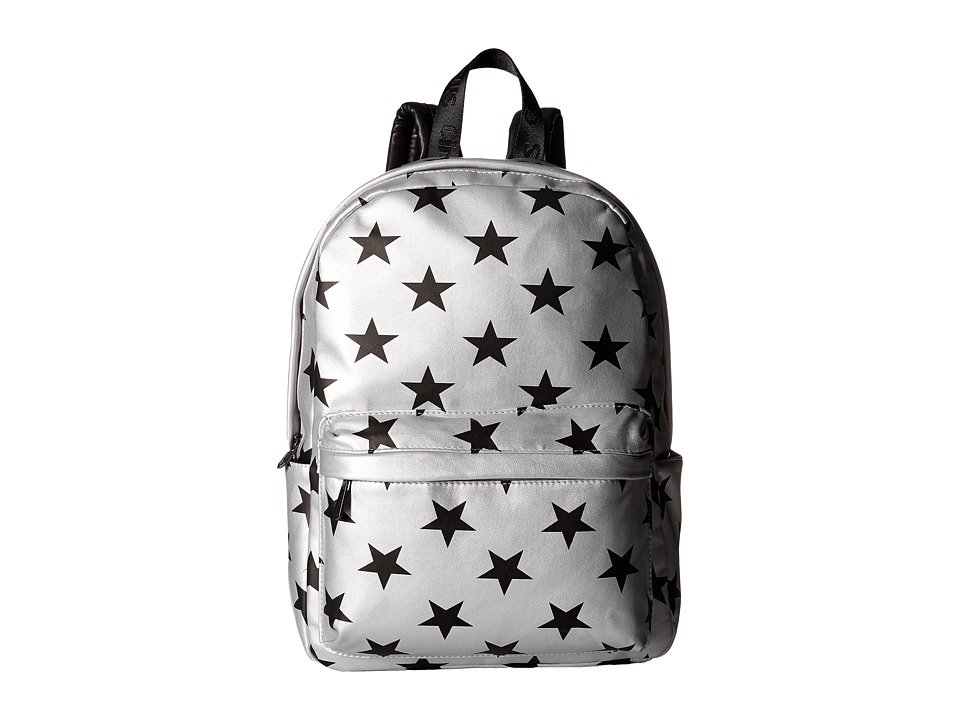Circus by Sam Edelman - Nora Star Print Backpack (Silver/Black Stars) Backpack Bags