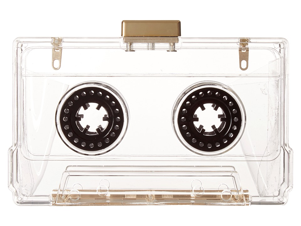 Circus by Sam Edelman - Viviana Cassette Frame Clutch (Clear) Clutch Handbags