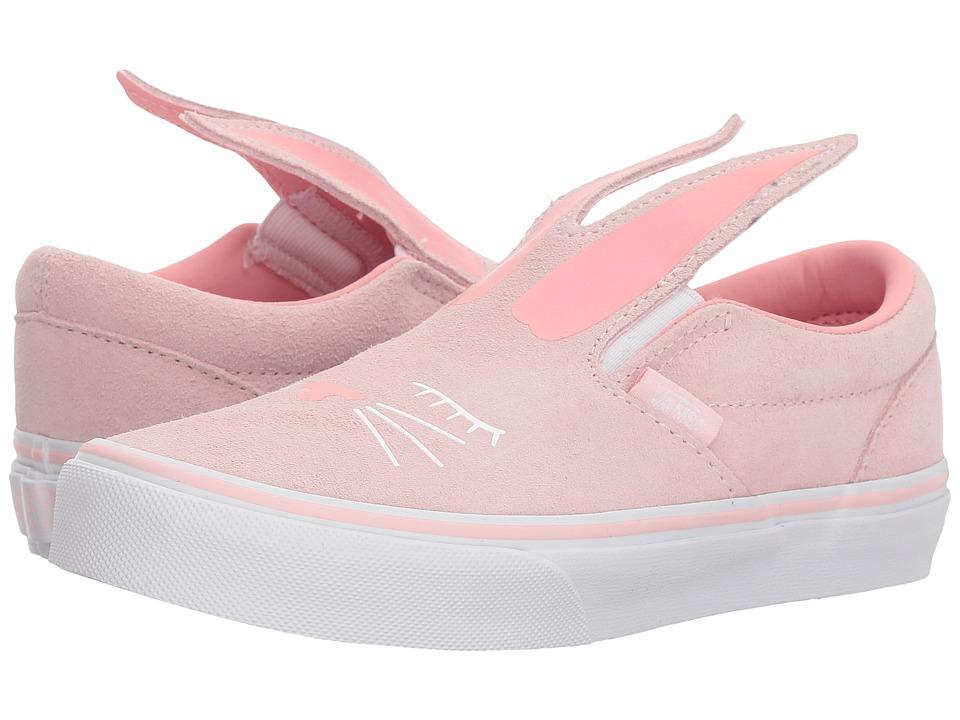 Vans Kids Slip-On Bunny (Little Kid/Big Kid) (Chalk Pink/True White) Girls Shoes
