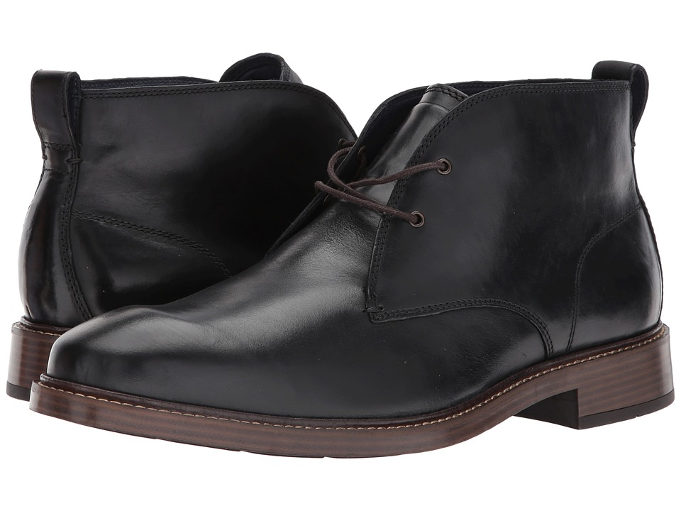 Cole Haan - Kennedy Grand Chukka II (Black) Men's Shoes