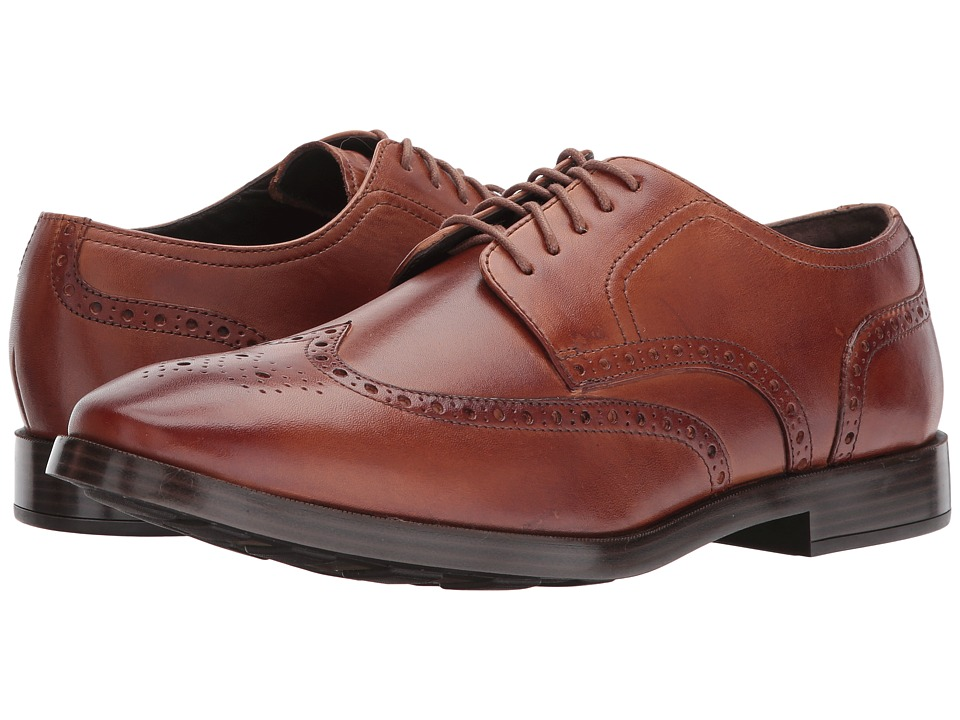 Cole Haan Jefferson Grand Wing Ox II (British Tan) Men