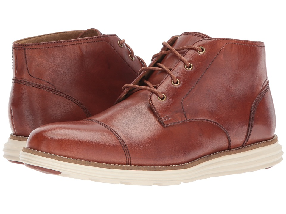 Cole Haan - O. Original Grand Chukka II (Woodbury) Men's Shoes