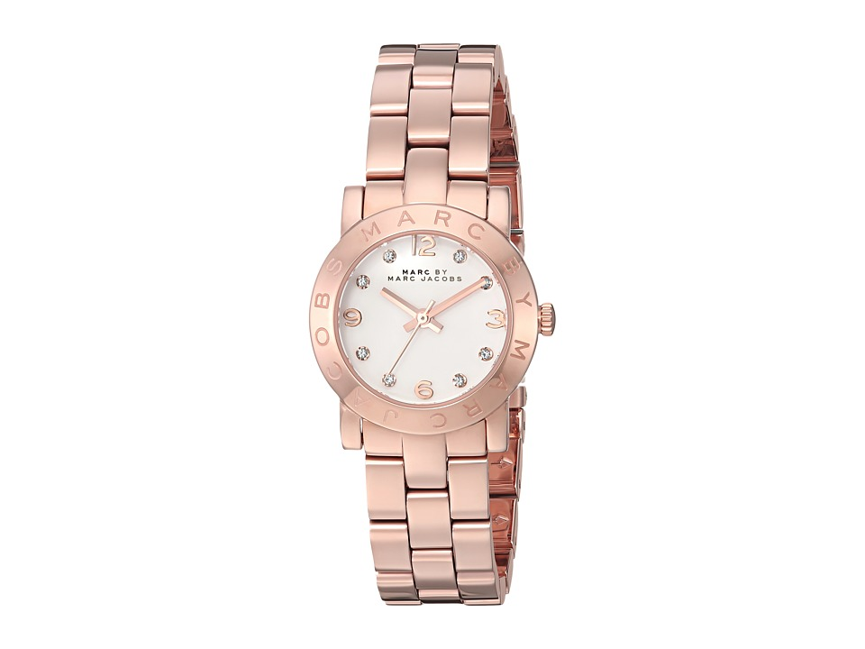 Marc by Marc Jacobs - MBM3078 - Amy Mini 34mm (Rose Gold/White) Watches