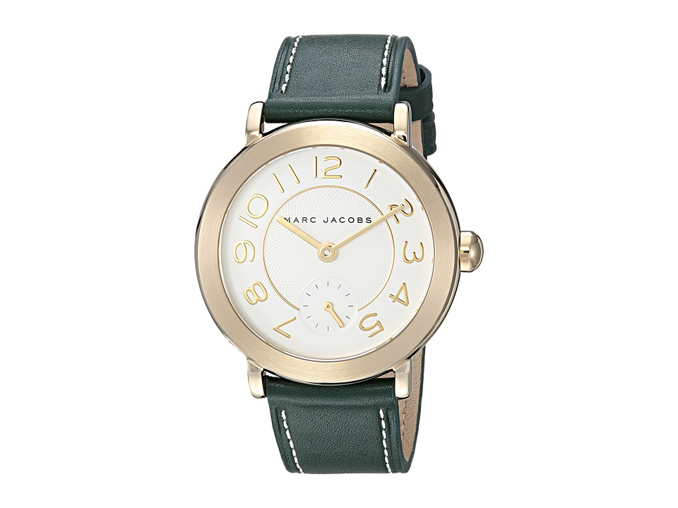 Marc by Marc Jacobs - MJ8675 - Riley 36mm (Gold/Green) Watches