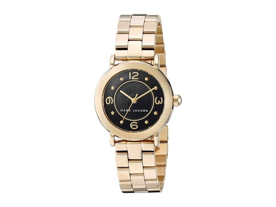 Marc by Marc Jacobs - MJ3513 - Riley 28mm (Gold/Black) Watches