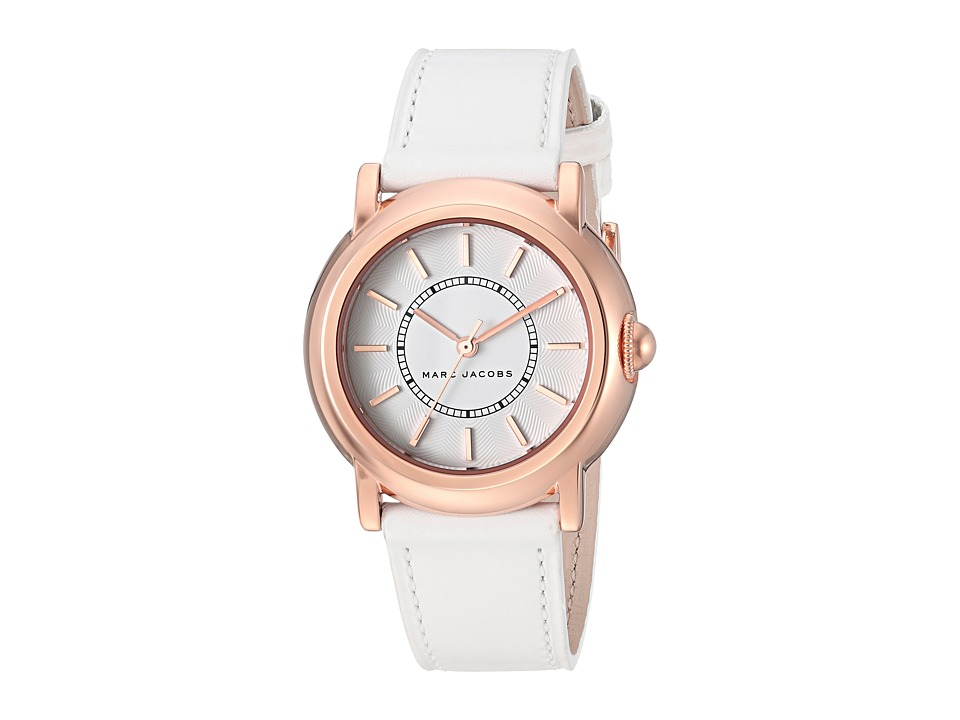 Marc by Marc Jacobs - MJ8674 - Courtney 34mm (White/Gold) Watches