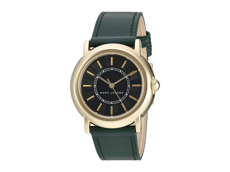 Marc by Marc Jacobs - MJ1490 - Courtney 34mm (Gold/Green) Watches