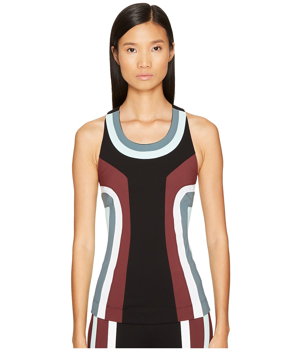 NO KA'OI - Moku Sleeveless with Bra (White/Black/Wine/Water/Shark) Women's Sleeveless