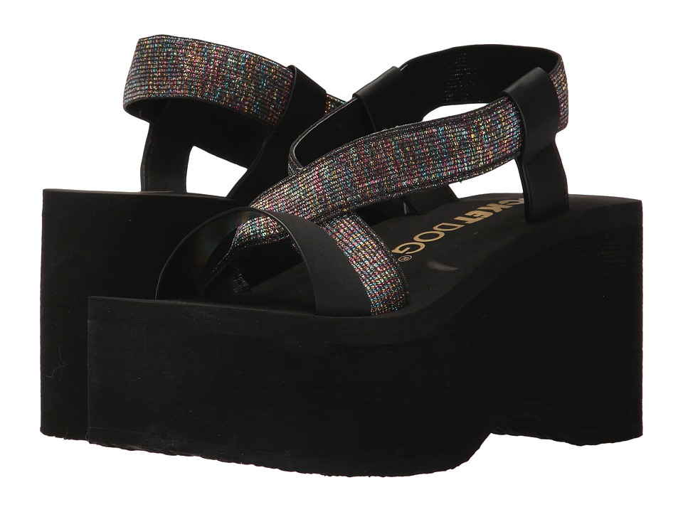 Rocket Dog - Bayer Slingback Platform (Cosmo Multi Metallica Gore/Smooth Eva) Women's Sandals