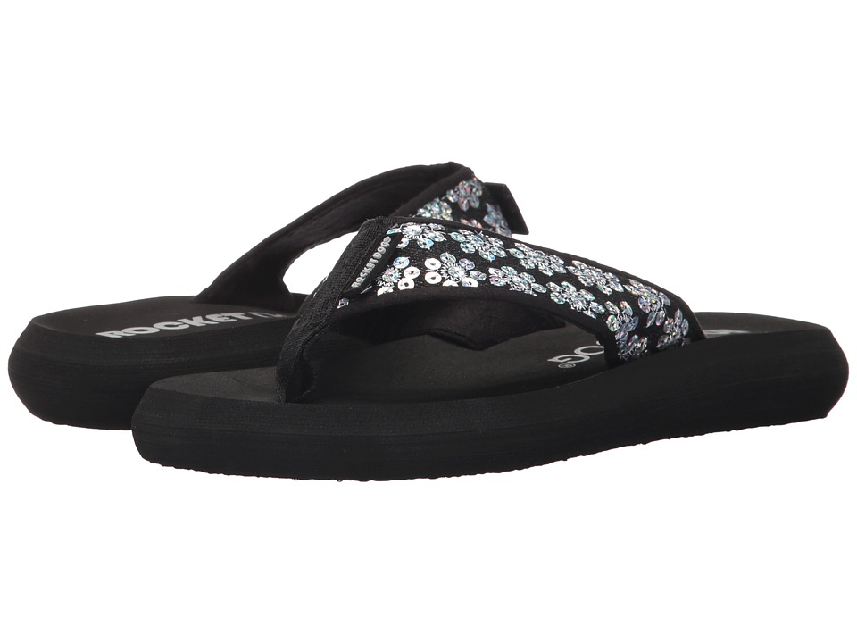 Rocket Dog - Spotlight (Black Ppostar) Women's Sandals