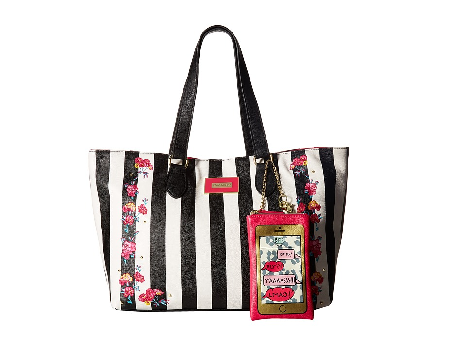 Betsey Johnson - Tote (Stripe) Tote Handbags