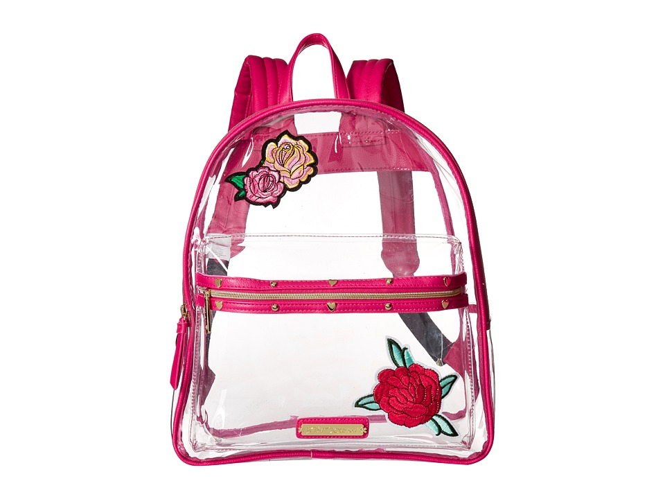 Betsey Johnson - Clear Backpack (Sand) Backpack Bags