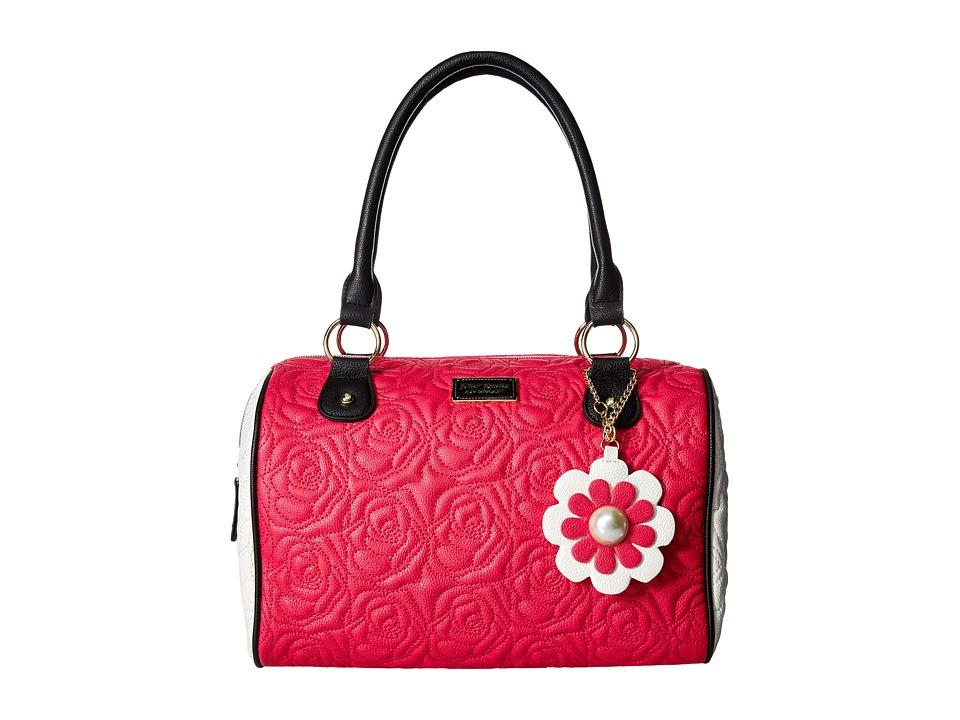 Betsey Johnson - Satchel (Fuchsia) Satchel Handbags