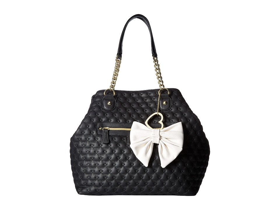 Betsey Johnson - Trap Tote (Black) Tote Handbags