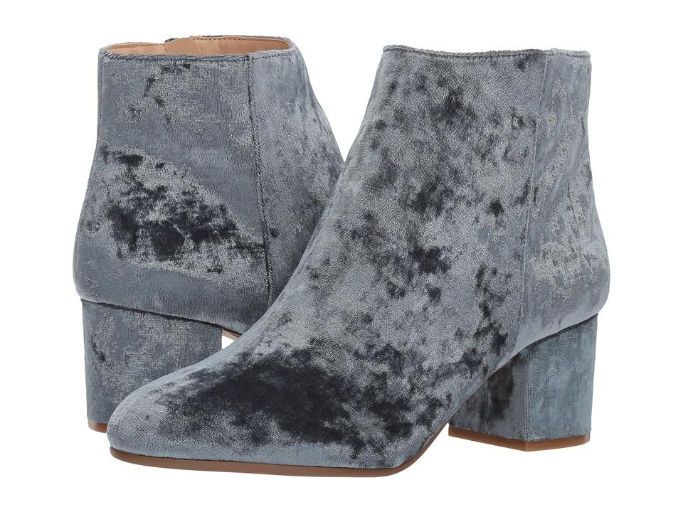 Steve Madden - Irina (Blue Velvet) Women's Dress Pull-on Boots