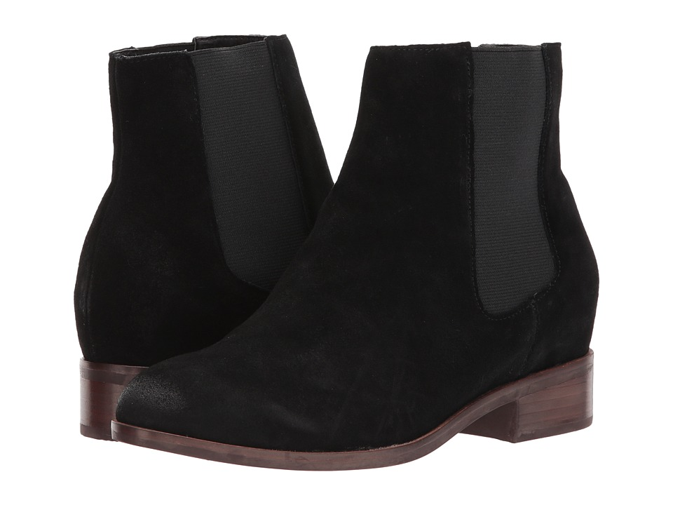 Steve Madden - Avril (Black Suede) Women's Dress Pull-on Boots