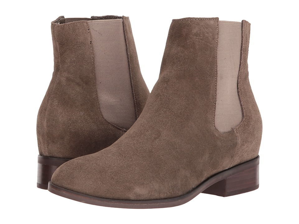 Steve Madden Avril (Taupe Suede) Women