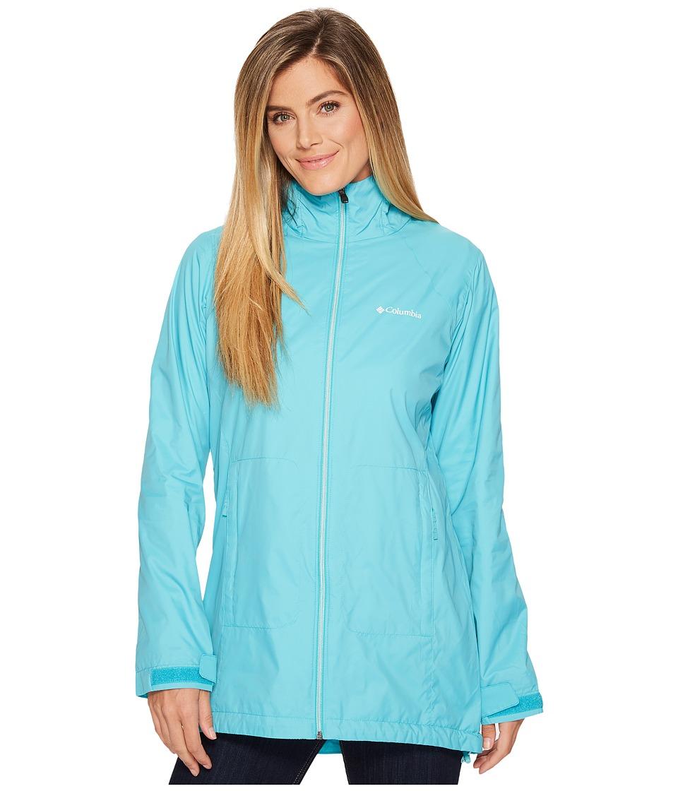 Columbia Switchback Lined Long Jacket (Geyser) Women