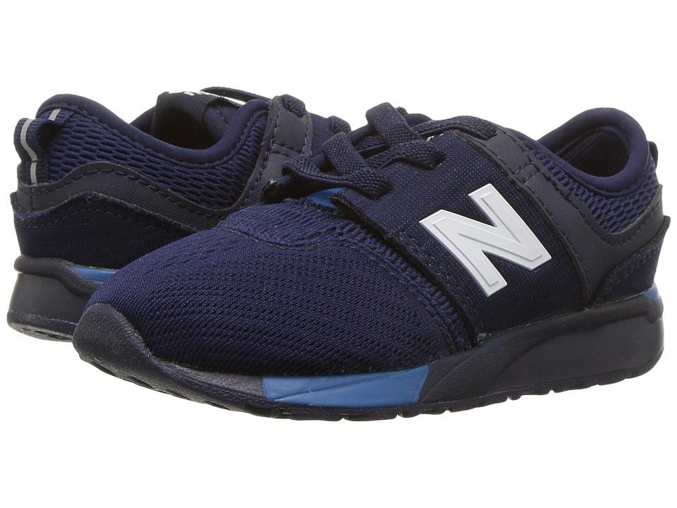 New Balance Kids KA247v1I (Infant/Toddler) (Blue/Blue) Boys Shoes