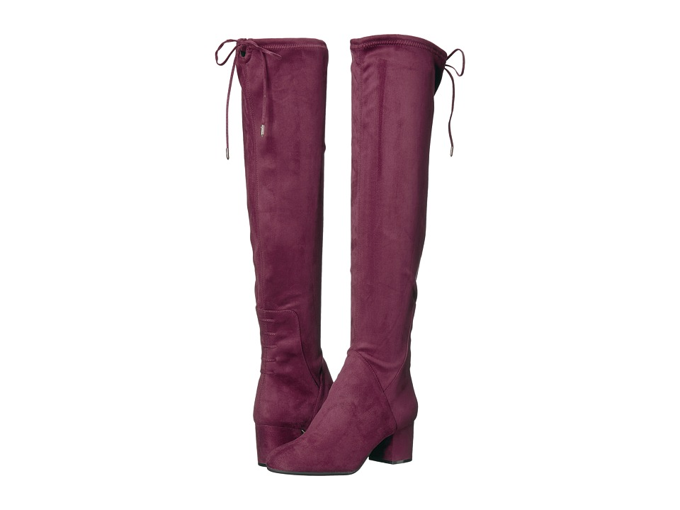 Steve Madden - Intro (Burgundy) Women's Dress Pull-on Boots