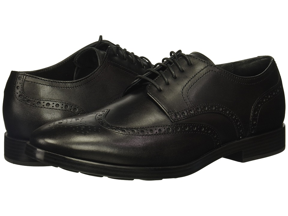 Cole Haan - Jefferson Grand Wing Ox II (Black) Men's Shoes