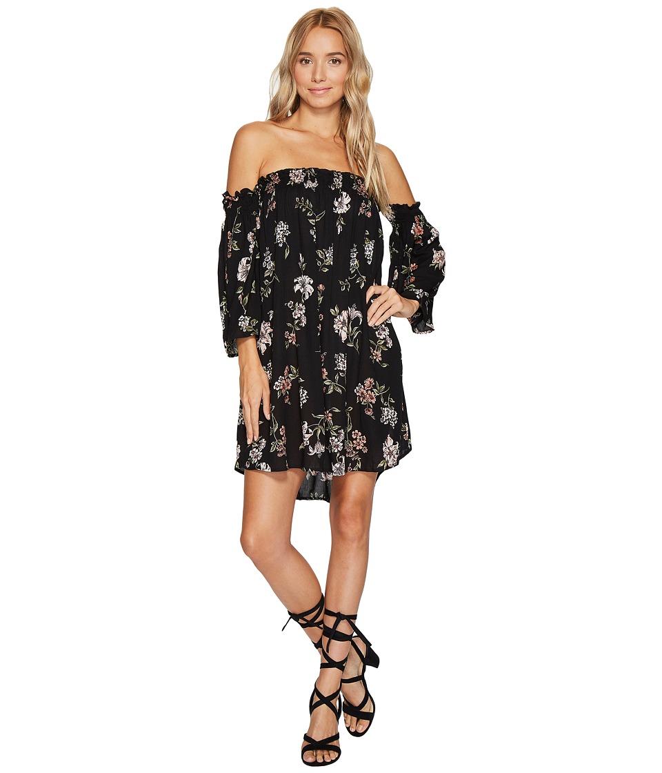 Angie - Off the Shoulder Dress (Black) Women's Dress